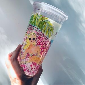 Lilly Pulitzer Plastic Cup